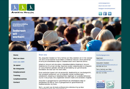 website - Arbeid en Verzuim - 02